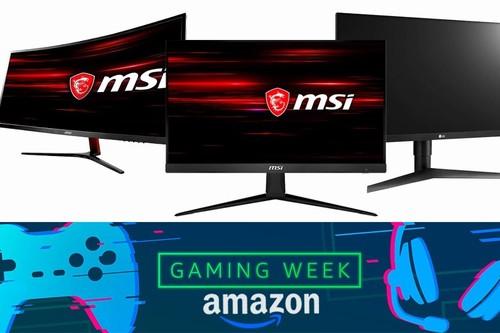 Gaming Week en Amazon: 9 monitores gaming de MSI y LG a precios superrebajados