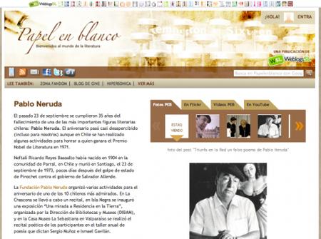 Libros, autores y conversaciones literarias en Papel en Blanco