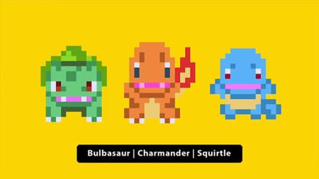 Bulbasaur, Charmander y Squirtle llegan a Super Mario Maker