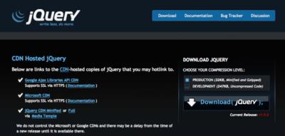 Se nota, se siente, jQuery 1.9 está presente