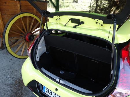 Maletero Prueba Toyota Aygo Interiores