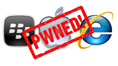 Pwn2Own: Apple, BlackBerry e Internet Explorer caen; Chrome y Firefox resisten