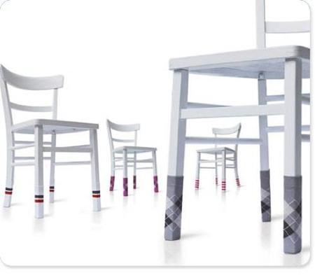 Calcetines para patas de mesas y sillas