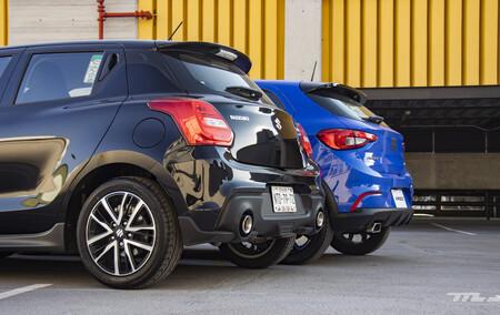 Fiat Argo Vs Suzuki Swift Sport Mexico Comparativa 4