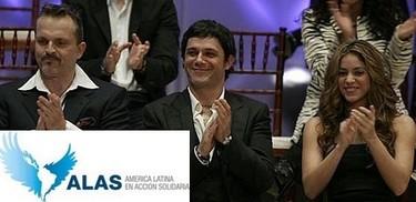 Shakira, Alejandro Sanz, Miguel Bosé, Thalía, Jennifer Lopez y Juanes unidos por la causa