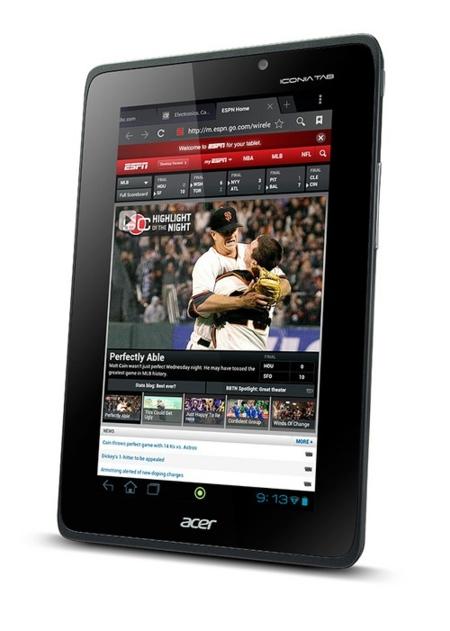 Acer Iconia A110 pantalla
