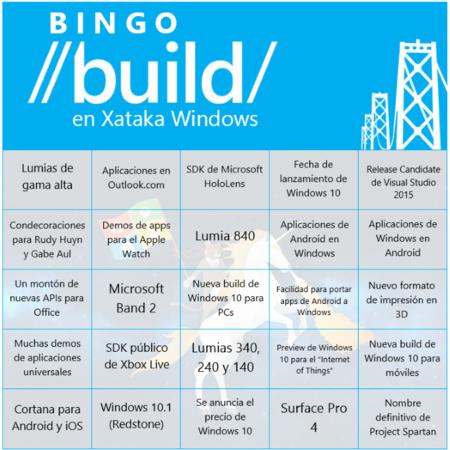 Bingo Build Unicornio