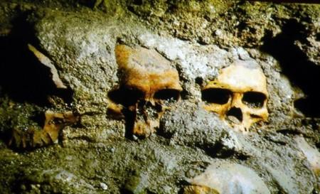 Descubren en el centro histórico el Huey Tzompantli de Tenochtitlán