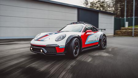Porsche sigue revelando sus conceptos secretos, ahora llegan el 911 Safari moderno un deportivo con motor de motocicleta
