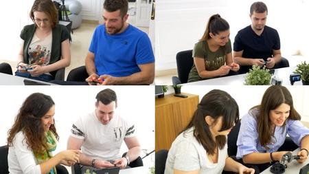 Hemos jugado ocho personas con cuatro Nintendo Switch a la vez a 'Mario Kart 8' y ésta es nuestra experiencia