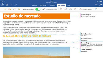Las aplicaciones de Office para iPad ya suman 27 millones de descargas