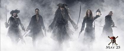 Nuevos posters de 'Piratas del Caribe 3'