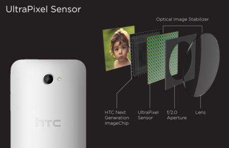 Los UltraPixels de HTC llegarán tambien a la gama media