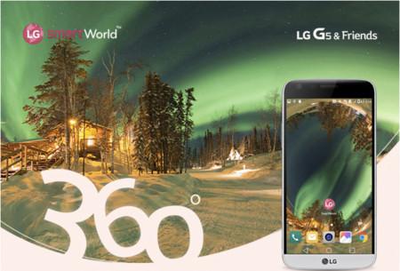 LG G5 estrena 12 nuevos y asombrosos wallpapers en 360