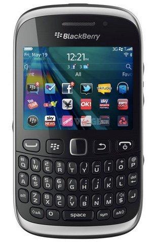 BlackBerry Curve 9320 se muestra antes de tiempo