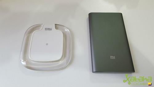 Xiaomi Mi Pro un potente power bank de 10000mAh, y Mindzo W07, un estilizado Qi Wireless Charger, lo mejor de ambos mundos