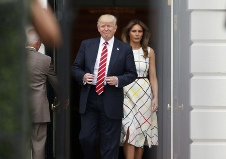 Melania Trump Cuadros Colores