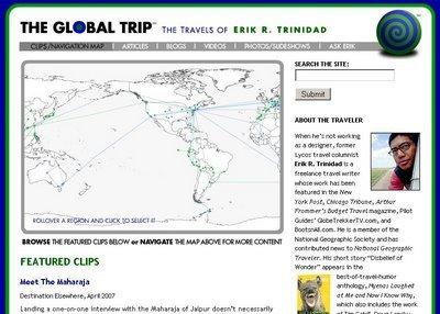 The global trip: un buen blog con relatos de la vuelta al mundo