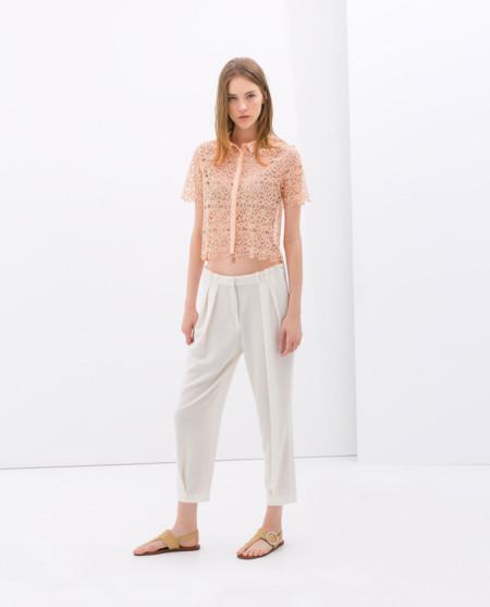 Zara pantalon baggy