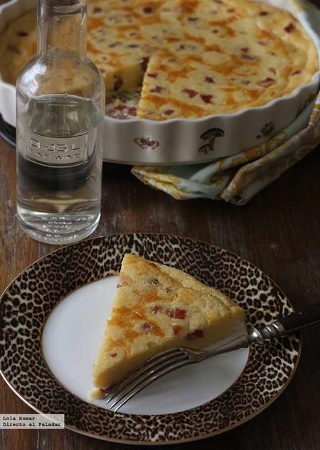 Quiche de quesitos sin base, receta fácil para una cena rápida