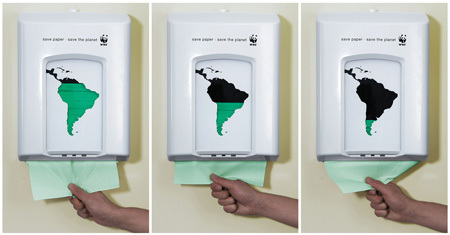 WWF: save paper, save the planet