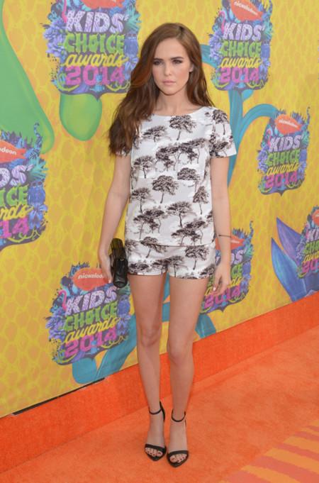 Zoey Deutch Kids Choice Awards mejor vestidas