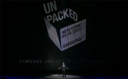 Unpacked Samsung 1