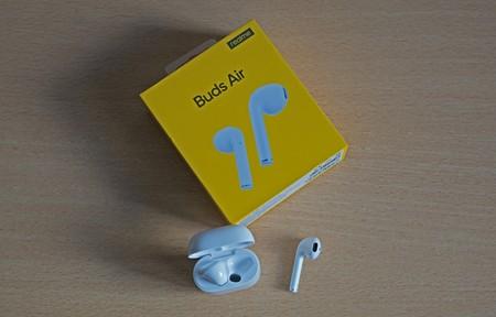 Hazte con los auriculares Realme Buds Air por menos de 50 euros en PcComponentes: comodidad, autonomía y rebaja bestial
