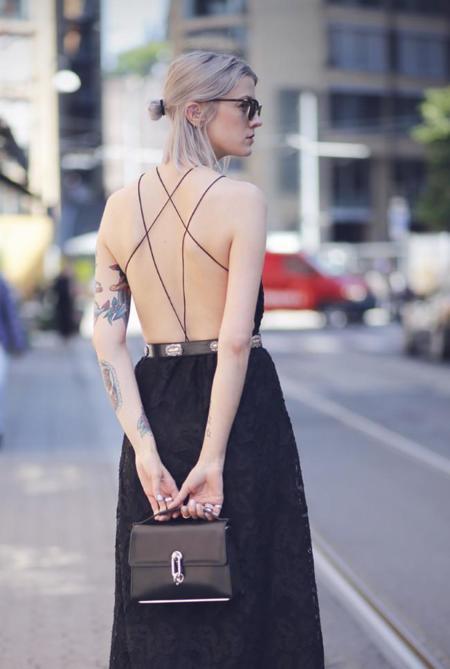 ¿Te apuntas al escote a la espalda? 5 ideas para sumarte a la tendencia