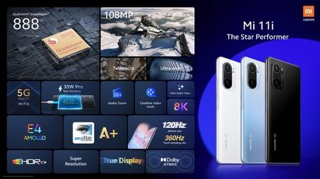 Xiaomi Mi 11i Oficial Caracteristicas Tecnicas