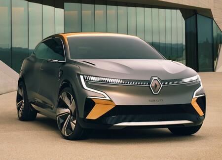 Renault Megane eVision Concept ¿adiós al hatchback? El futuro del Megane parece ser un crossover eléctrico