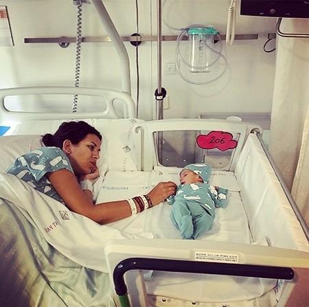 Cunas colecho en el hospital San Pau de Barcelona, para que el recién nacido esté pegadito a mamá