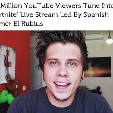 """""""Un youtuber español destroza al mejor jugador de Fortnite"""": reacciones internacionales al streaming del Rubius"""