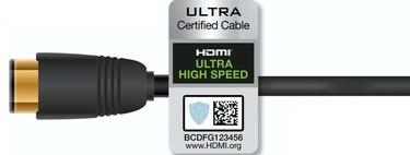 Este es el logotipo que tendrás que buscar en tu próximo cable HDMI 2.1 si quieres que esté certificado por el HDMI Forum