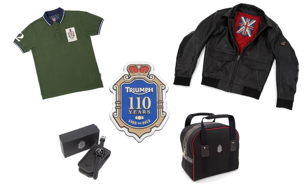 Colección boutique Triumph 110º Aniversario. Historia y estilo