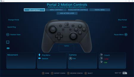 Steam añade soporte para el mando Pro de Nintendo Switch. Así puedes activarlo