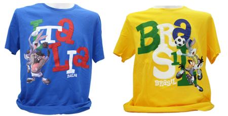 Camisetas Mundial de Fútbol