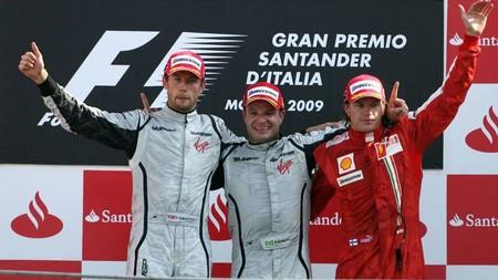 Barrichello Monza F1 2009