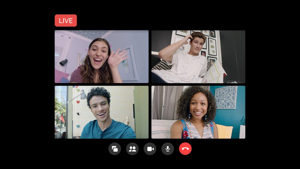 Las videoconferencias grupales de Messenger Rooms ya se pueden emitir en directo