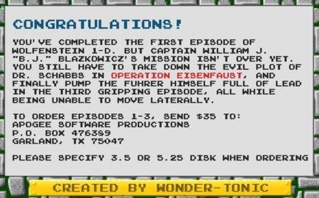 Wolfenstein 1D - Credits