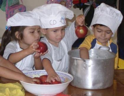 Día europeo de la alimentación, cocina sana para niños