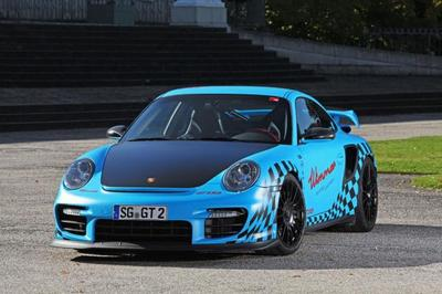 Porsche 911 GT2 RS Muscle Play por Wimmer RS