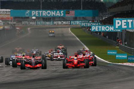 Detalles importantes para la salida del Gran Premio de Malasia