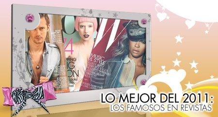 Lo mejor del 2011 en Poprosa: Revistas, papel couché para todos los gustos