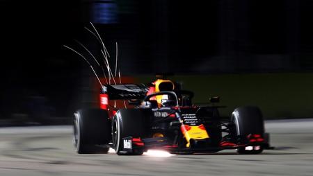 Verstappen Singapur F1 2019