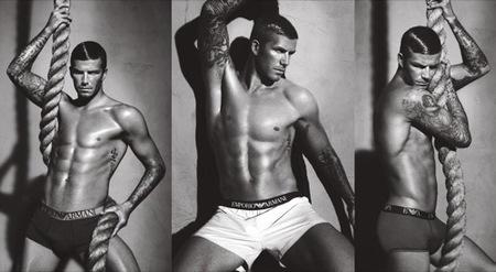 La nueva campaña de David Beckham para Emporio Armani