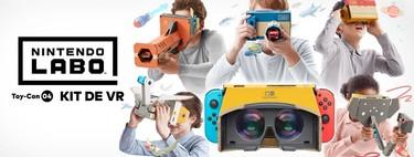 Del escepticismo con Nintendo Labo VR de Switch a la cruda realidad