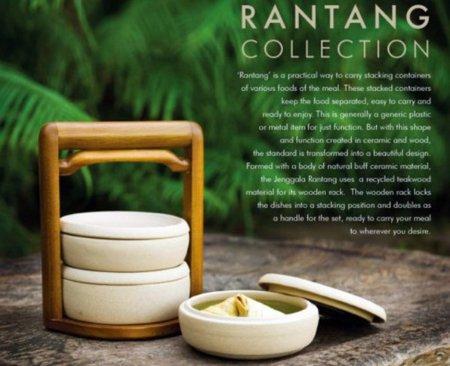 Jenggala Rantang, una fiambrera exquisita