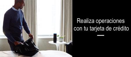 Alexa, el asistente virtual de Amazon, te ayudará con los pagos vía tarjeta de crédito desde casa