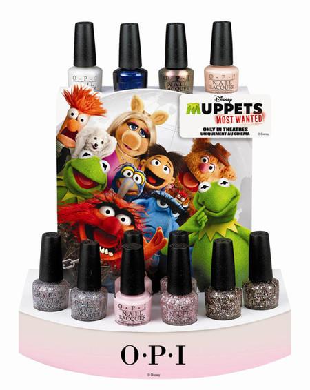 Vuelve a tu infancia con OPI y su nueva colección Muppets Most Wanted 2014